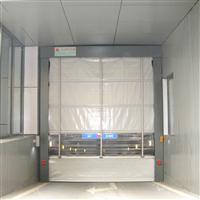 天津 雷达PVC堆积门 雷达透明堆积门 地磁电动堆积门