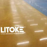 力特克专业固化剂厂家,品质保障彩色硬化地坪,超大面积无缝地坪