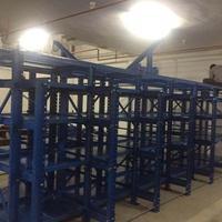 生产模具货架深圳厂家 抽拉五金铁料放置架  重型货架定做设计