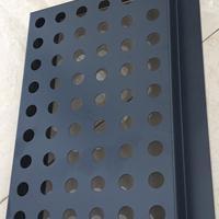 传祺二级店门头灰色板 广汽传祺销售店深灰色冲孔板材料定制厂家