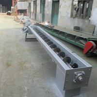 临沂不锈钢螺旋输送机爬升快装卸货物理想设备