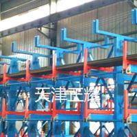 多层存放管材圆钢槽钢角钢的伸缩式悬臂货架