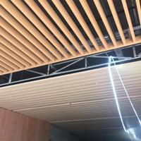 排气通道顶棚V形铝方通吉林铝方管型材一些工厂