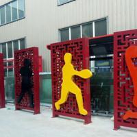 黄山供应不锈钢体育运动人物雕塑制作