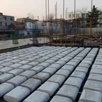 现浇混凝土空心及复合楼盖板填充体芯模箱体
