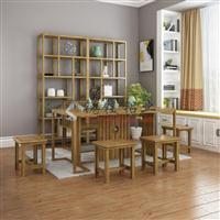 全铝餐桌凳子桌椅组合铝合金家具 全屋定制型材批发