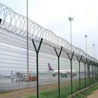 迈伦北京机场围网 厂家@刀片刺绳围网边防道防爬围网