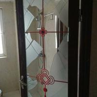 西安卫生间玻璃门维修换玻璃