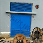 不锈钢变压器门、配电房百叶门厂家