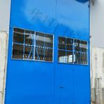 贵州02J611-1钢大门厂家、贵州水泥厂钢大门厂家