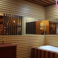 自然木100*120防水吊頂天花裝飾扣板廠家