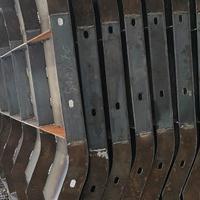 定制防撞墙模具 防撞墙钢模具 隔离安全作用