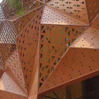 佛山造型鋁單板廠家加工 大門鋁護墻板定做