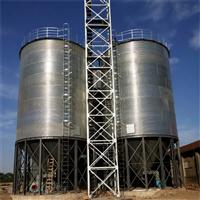 大型玉米钢板仓 千吨小麦仓价格查询 钢板仓工艺流程说明