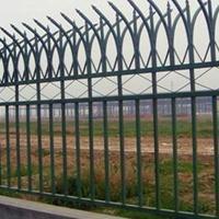 现货供应小区围墙护栏 小区防护栅栏  小区锌钢护栏