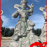 四大天王佛像厂家-四大天王雕塑-石雕四大天王多少钱