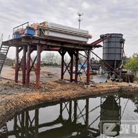泥浆净化机批发厂家-污泥压滤机现场视频