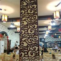 古典木纹铝窗花屏风隔断现代装饰分中式风格欧式风格美式风格定制
