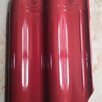 烟台连锁瓦厂家直销招远琉璃瓦红坯陶瓷瓦 供应屋面瓦