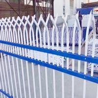 别墅小区防护栏A铁艺围墙栅栏A厂区围墙栅栏厂家