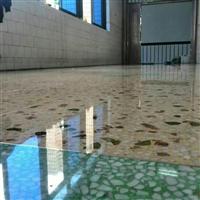 供应水磨石固化地坪,专业团队专业施工质量保证耐磨防尘