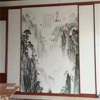 竹纤维集成墙板吊顶规格厂家润之森竹纤维集成墙板