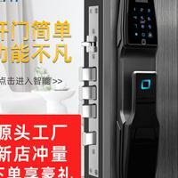 源头厂家直销奥弗特全自动智能指纹锁防盗门锁远程控制智能锁VQ86