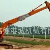 挖掘机加长臂价格 17米加长臂报价