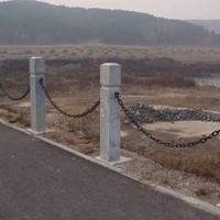 泰安鲁兴环保防锈护栏链条 铁链规格及参数