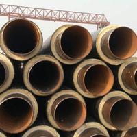 热电厂供暖直埋整体式预制保温无缝钢管施工