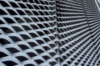 上海申衡装饰吊顶铝板网 铝拉网幕墙