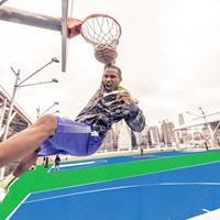 羽毛球塑胶场地、篮球场塑胶厂家,选天骄自然胶塑胶地板