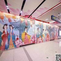 浙江台州酒店装饰彩绘铝板定制