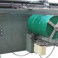垃圾桶塑料桶丝印机涂料桶矿泉水桶滚印机化工桶包装桶丝网印刷机