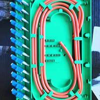 24芯LC多模一体化模块 ODF一体化光配模块
