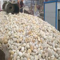 丽水雪花白鹅卵石黑色鹅卵石/雨花石生产基地