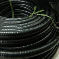乌鲁木齐供应双扣不锈钢包塑软管 Φ25防水抗拉金属穿线管