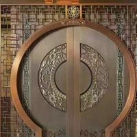 别墅高等铜艺铜门