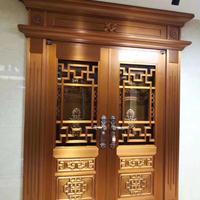 成批出售铜艺铜门厂家成批出售花园铜门建筑铜门