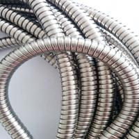 大庆供应双钩金属软管  电气线缆保护套管Φ25