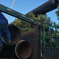 无缝钢管聚氨酯泡沫预制直埋管出厂价格咨询