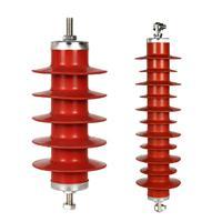 金源电气 高压避雷器 复合避雷器HY5WS-17/50 10KV 氧化锌避雷器