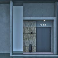 阑爵装甲入户别墅大门铝艺大门进户门客厅门