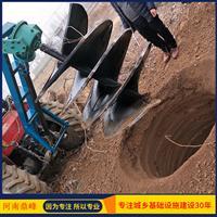 河南鼎峰 树坑机  树坑机的价格 种树挖坑机