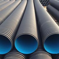各种规格HDPE双壁波纹管 耐腐蚀零渗漏 厂家直供