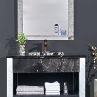 大理石洗手盆,大理石一体洗手盆,实木浴室柜招商