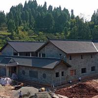 中式別墅屋面瓦 樂山免燒琉璃瓦施工