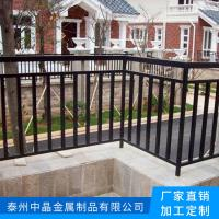 供应江阴热镀锌浸塑阳台护栏厂家价格