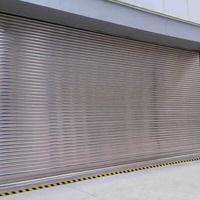 深圳不锈钢电动卷帘门价格透明,支持定制