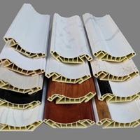 竹木纤维集成护墙板顶角线条阴角线吊顶天花角线室内装饰墙角收边